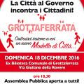 Assemblea Pubblica – 18 dicembre 2016