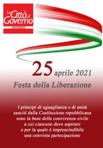 La Città al Governo augura Buon 25 aprile